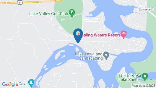 Located Inside a Missouri Vineyard, Pet-friendly & Free Kayaking Map