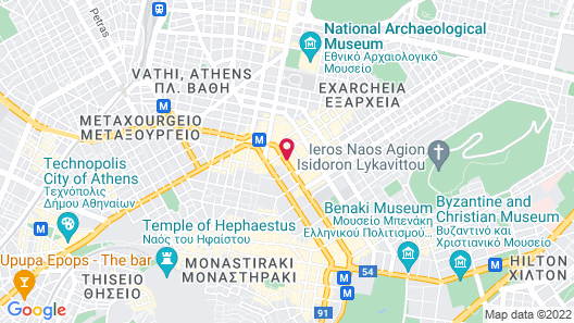 Titania Hotel Map