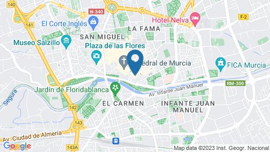Hotel Arco de San Juan Map