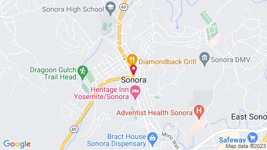 Sonora Inn Map