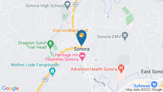 Sonora Inn Map