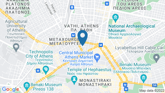 My Athens Hotel Map