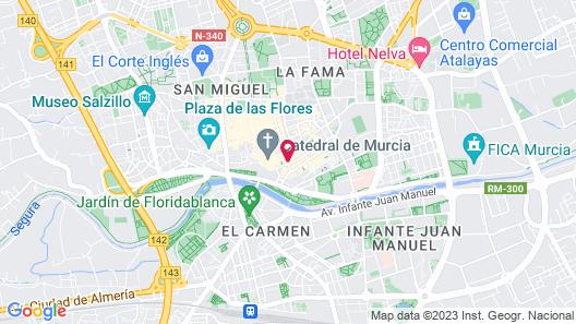 Tryp Murcia Rincón de Pepe Map