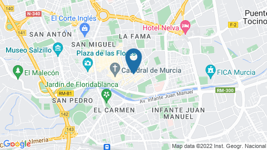 Apartamento La Catedral Map
