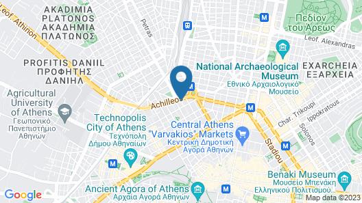 Acropolis Plaza Smart Suites Map