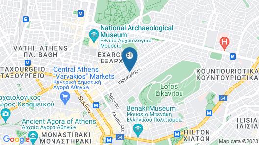 Athens Quinta Map