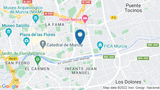 Flor Dalia Map