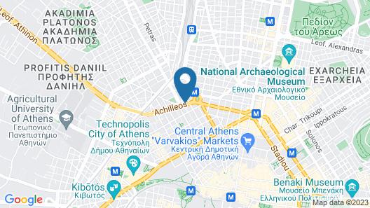 Apollo Hotel Map