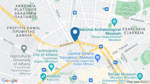 Wyndham Athens Residence Map