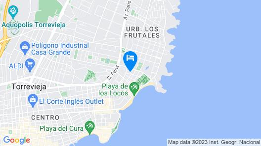 Ona Aldea del Mar Map