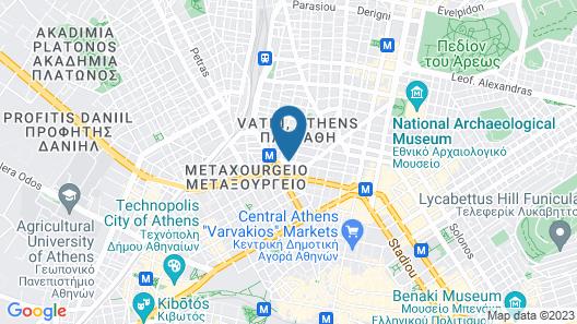 Novus City Hotel Map