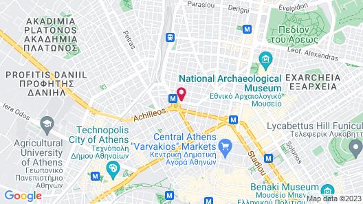 Hotel Katerina Map