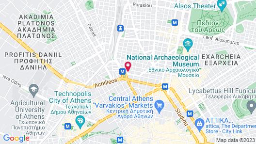 Meni Apartments Hotel Map