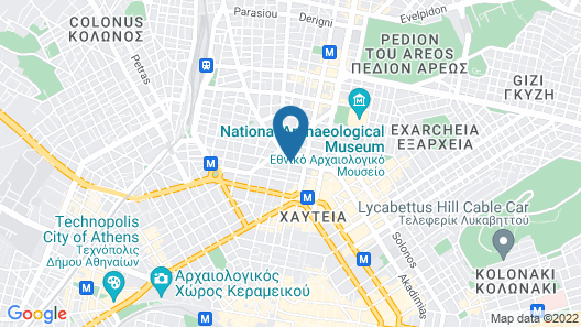 Athens House Map