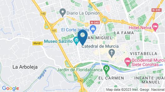 Apartamento Salzillo Map