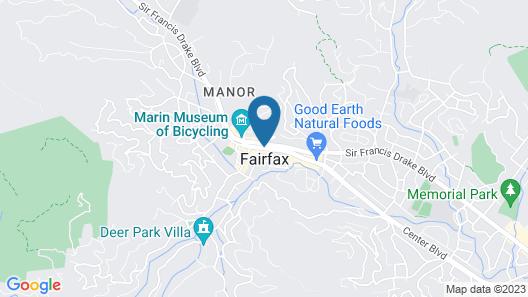 Fairfax Inn Map
