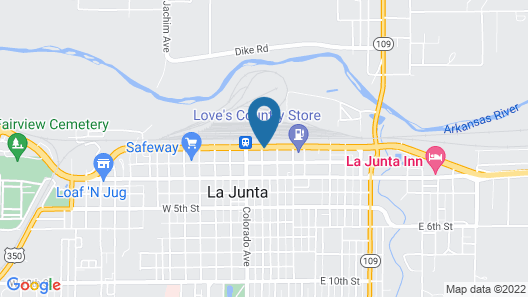 Travel Inn of La Junta Map