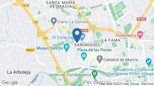 NH Amistad Murcia Map