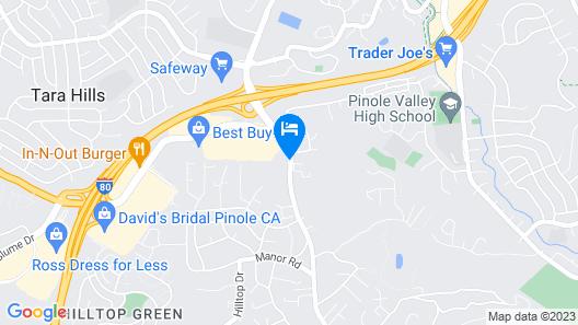 Days Inn by Wyndham Pinole Berkeley Map
