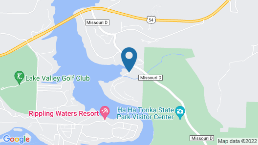 Great Vacation Home for the Whole Family, Plus Your Boat! Map