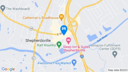 Motel 6 Shepherdsville, KY Map