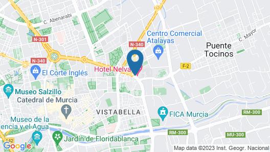 Hotel Nelva Map