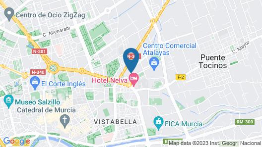 Hotel Agalia Map