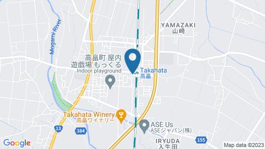 Yoshinoya Map