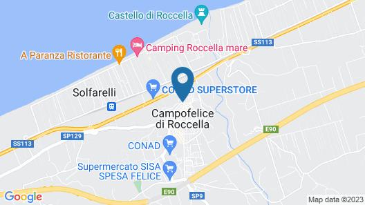 Grand Palladium Sicilia Resort & Spa Map