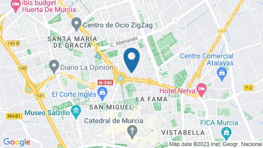 Hotel El Churra Map