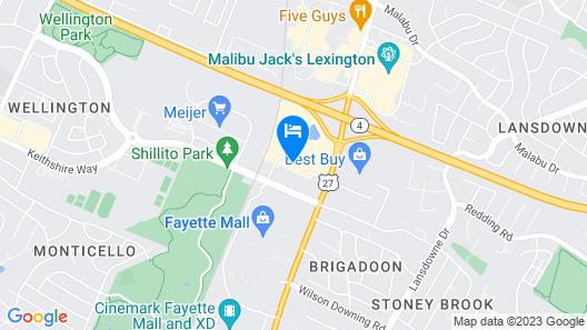 Embassy Suites by Hilton Lexington Green Map