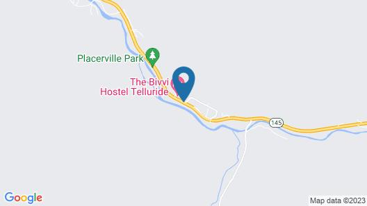 The Angler Inn Map