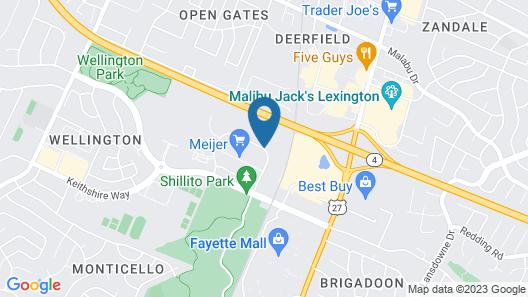 Homewood Suites by Hilton Lexington Fayette Mall Map