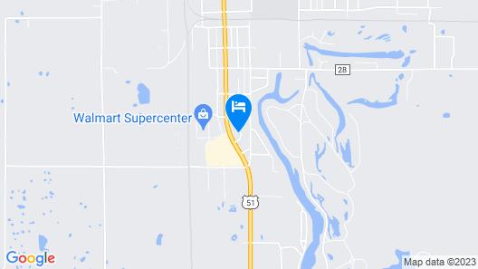 Super 8 by Wyndham Du Quoin Map
