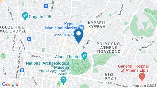 Diva Hotel Map