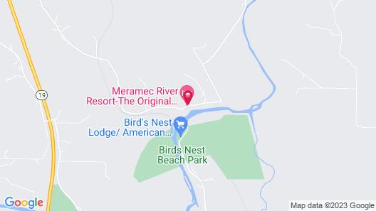 Meramec River Resort Map
