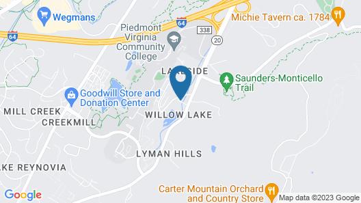 Inn at Monticello Map