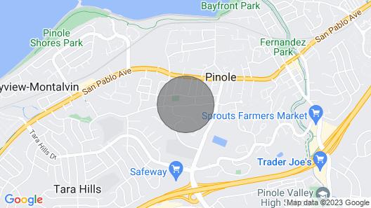 Great Studio IN Pinole! Map