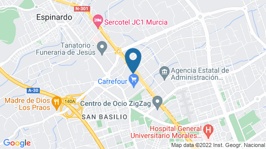 AC Hotel Murcia by Marriott Map