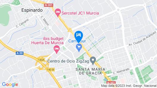 AC Hotel Murcia by Marriott Map