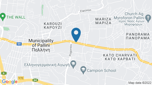Mikelina Boutique Hotel Map