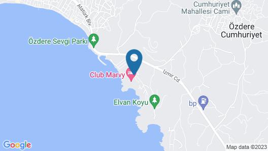 Club Marvy Map