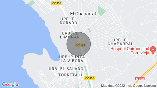 Torrevieja: Bungalow with pool view !  Map