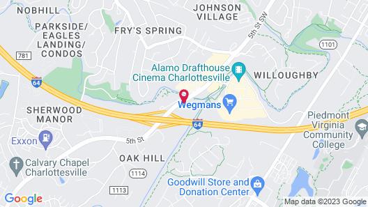 Holiday Inn Charlottesville-Monticello, an IHG Hotel Map