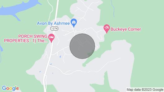 The Cave Run Lake Cabin Map