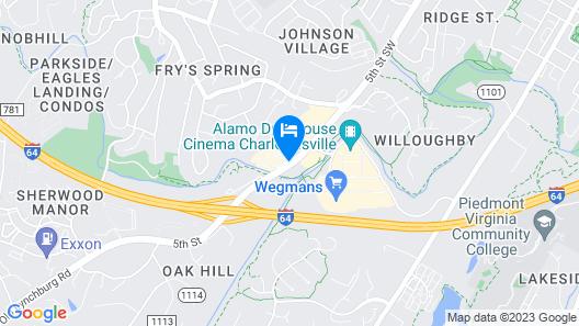 Sleep Inn & Suites Monticello Map