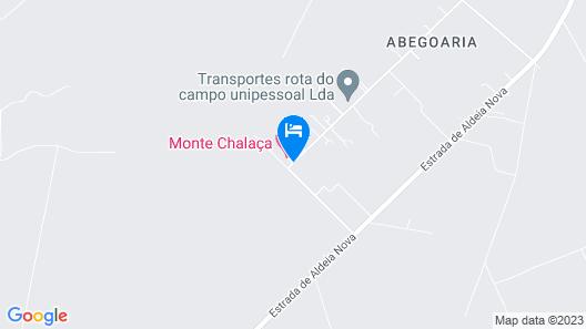Monte da Chalaça Map