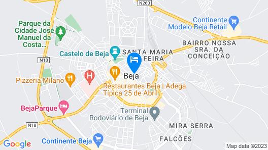 Casa Rogério Map