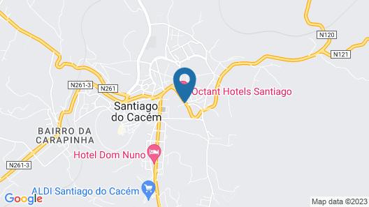 Hotel Santiago Cooking & Nature Map