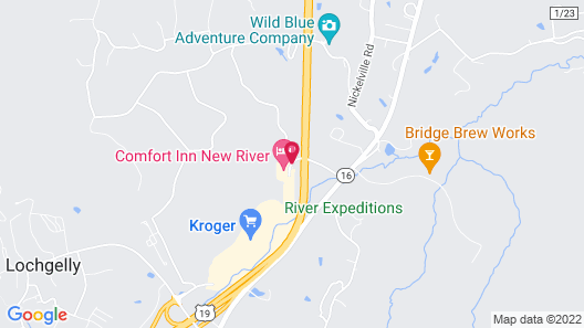 Comfort Inn New River Map